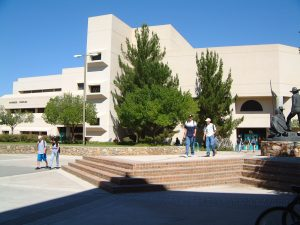 Photo of the NMSU Business Complex.