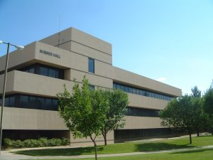 Photo of the NMSU Science Hall.